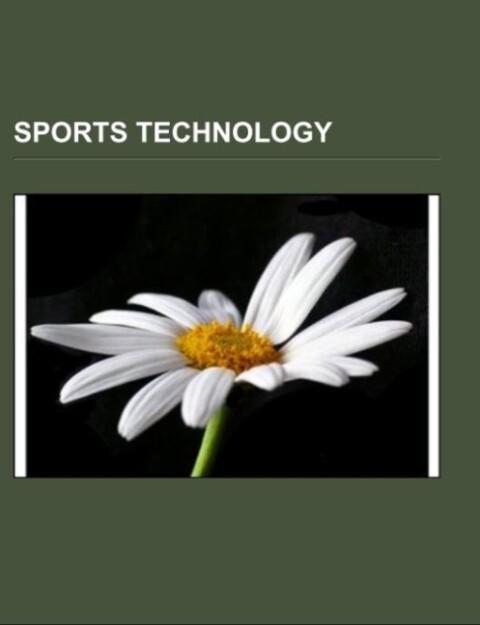 Sports technology als Taschenbuch von