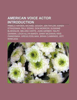American voice actor Introduction als Taschenbu...