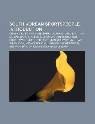 South Korean sportspeople Introduction als Tasc...
