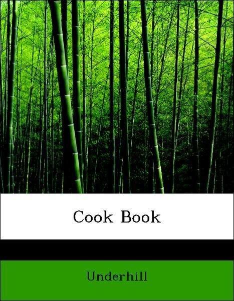 Cook Book als Taschenbuch von Underhill