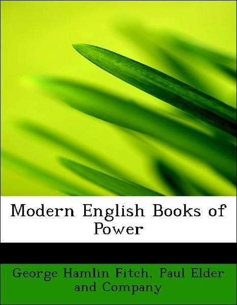 Modern English Books of Power als Taschenbuch v...