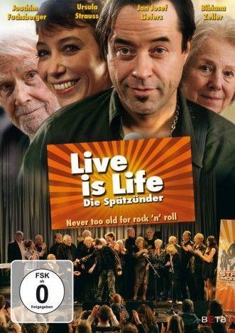 Live is Life - Die Spätzünder als DVD