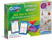 Clementoni 69808 - Galileo Kids: Wissensquiz ab 6 Jahren