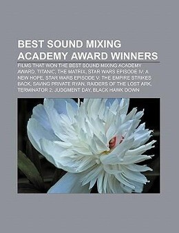 Best Sound Mixing Academy Award winners als Tas...