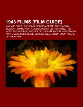 1943 films (Film Guide) als Taschenbuch von