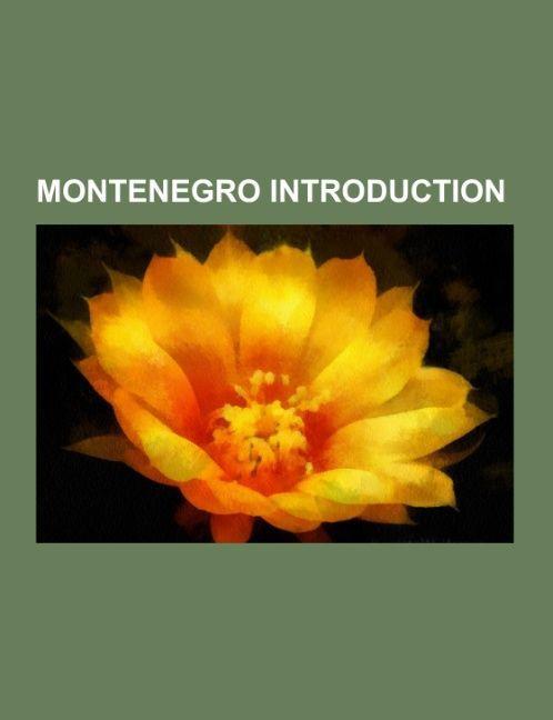 Montenegro Introduction als Taschenbuch von