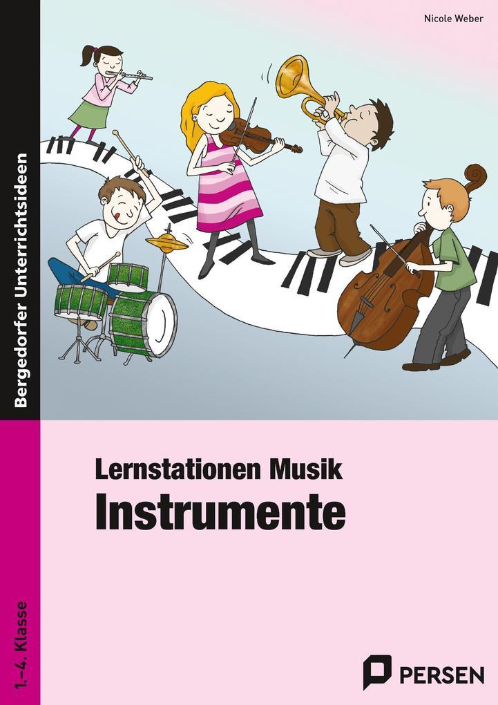 Lernstationen Musik: Instrumente als Buch von N...