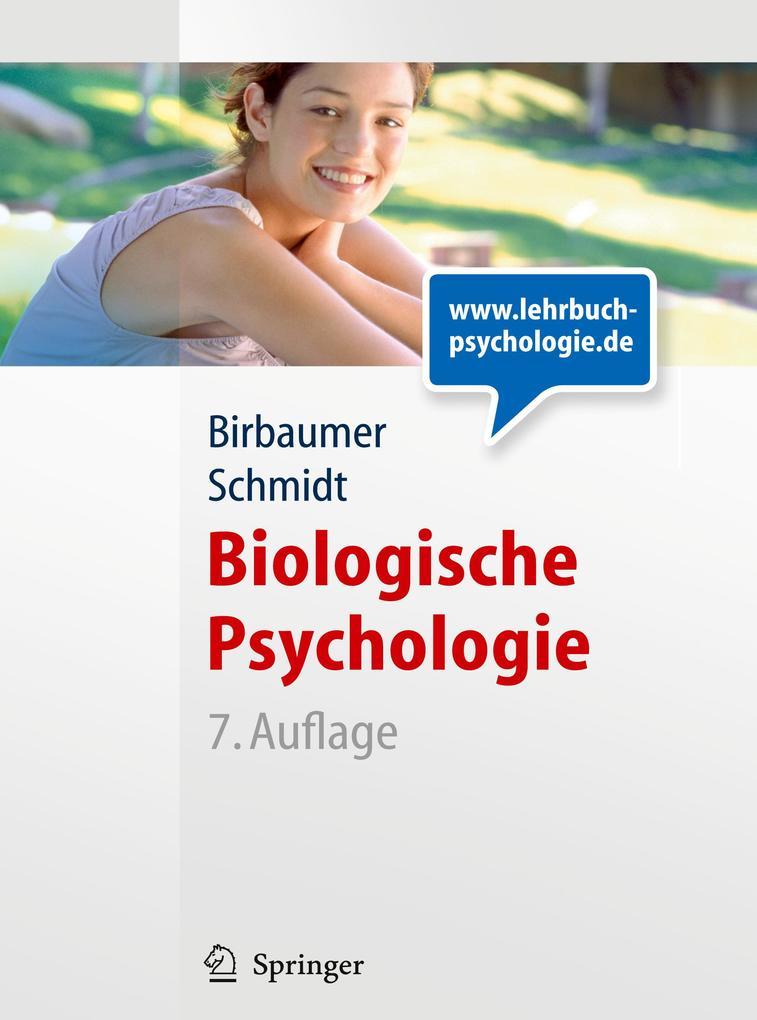Biologische Psychologie als Buch von Niels Birb...