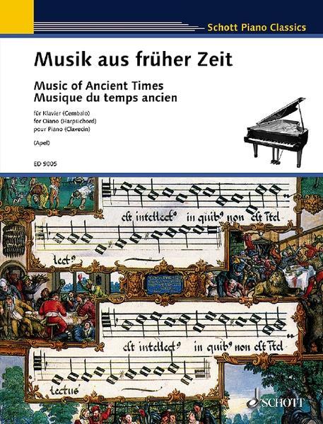 Musik aus früher Zeit. Klavier. als Buch von