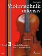 Violintechnik intensiv. Band 3. Violine