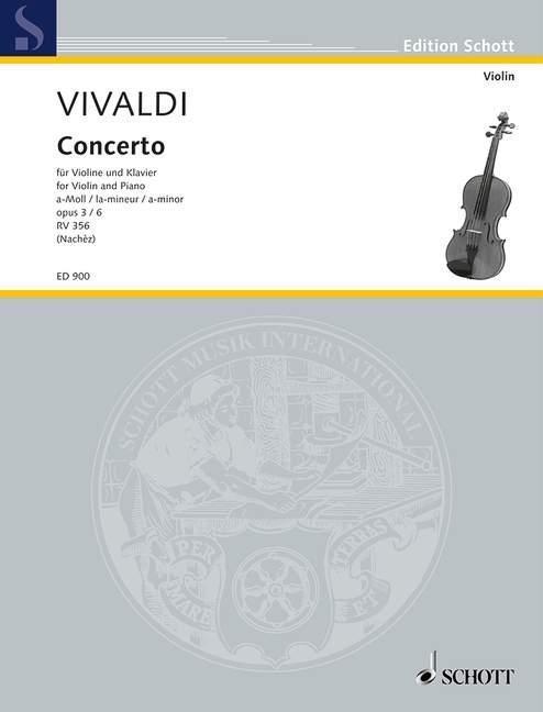 L´Estro Armonico als Buch von Antonio Vivaldi