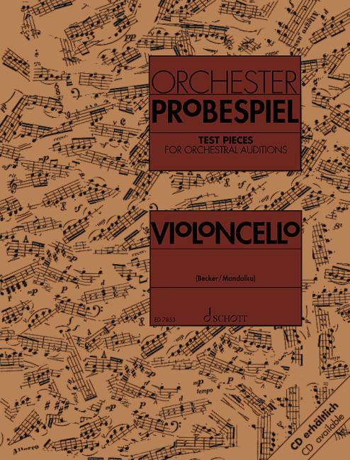 Orchester-Probespiel Violoncello als Buch von