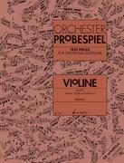 Orchester-Probespiel Violine