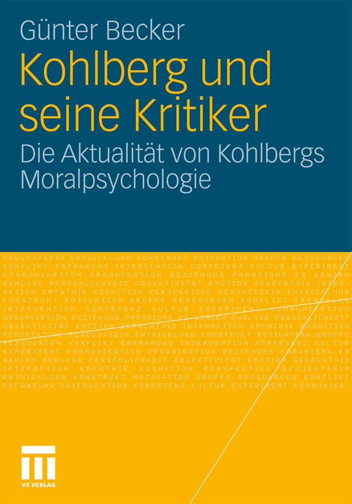 Kohlberg und seine Kritiker als Buch von Günter...