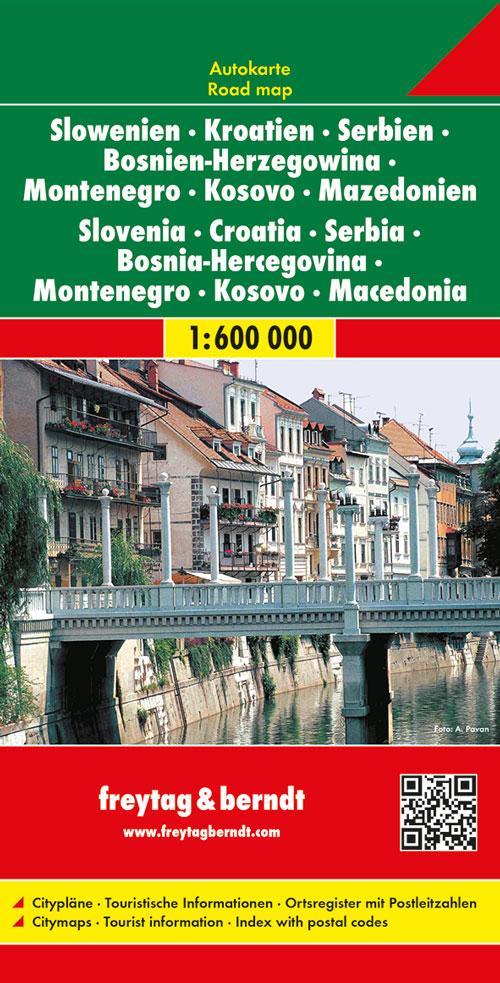 Slowenien / Kroatien / Serbien / Bosnien-Herzeg...