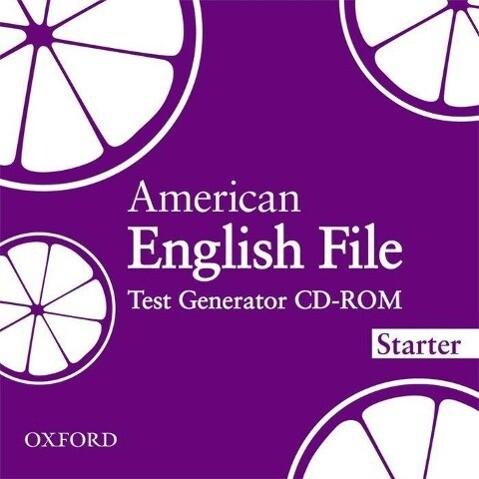 American English File Starter: Test Generator C...