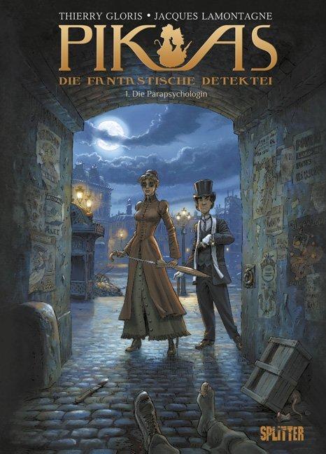Pik As 01. Die Parapsychologin als Buch von Thi...