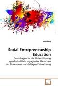 Social Entrepreneurship Education