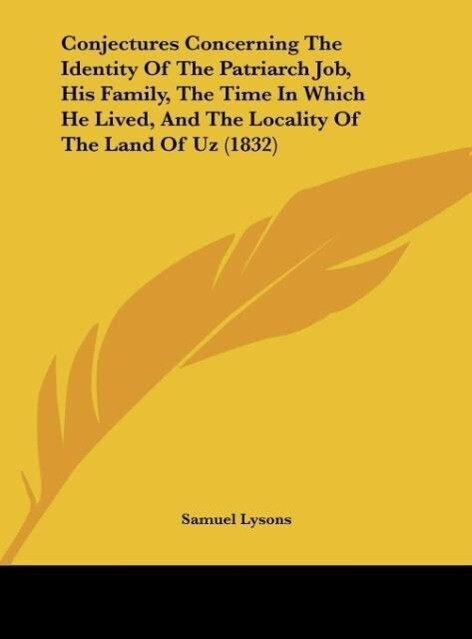 Conjectures Concerning The Identity Of The Patr...