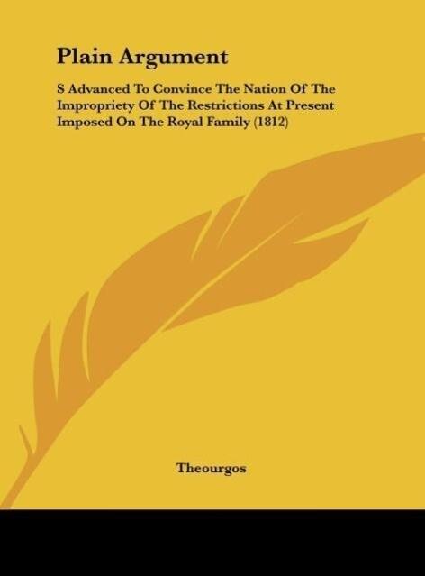 Plain Argument als Buch von Theourgos - Theourgos