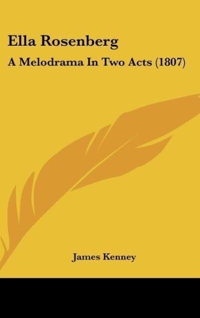 Ella Rosenberg als Buch von James Kenney - James Kenney