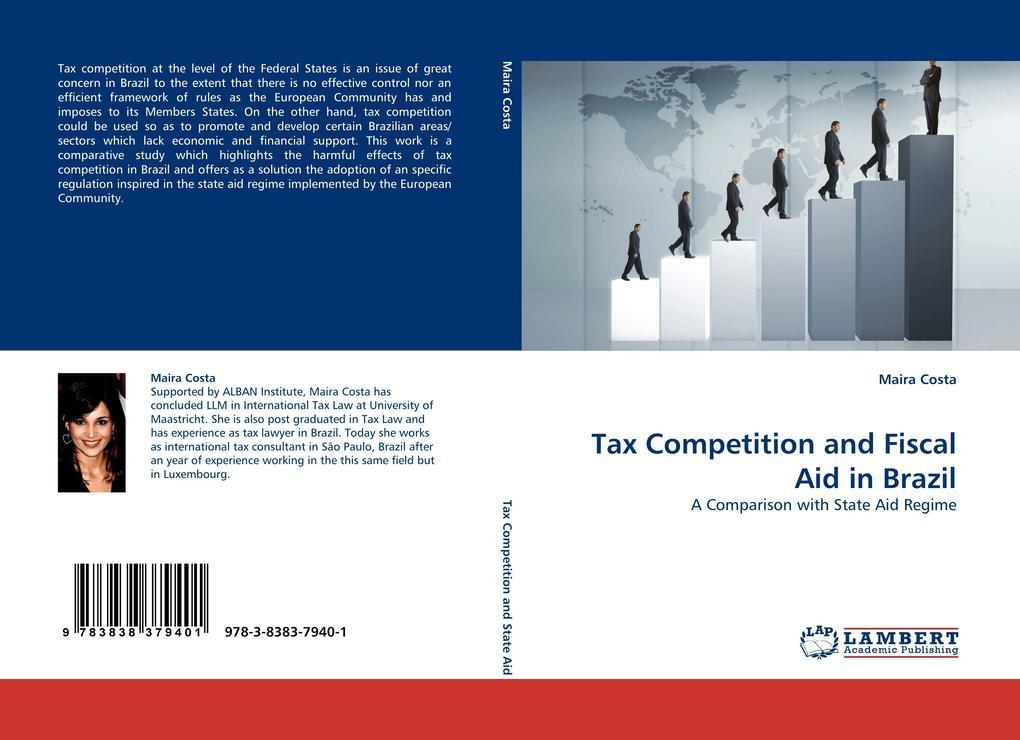 Tax Competition and Fiscal Aid in Brazil als Buch von Maira Costa - Maira Costa