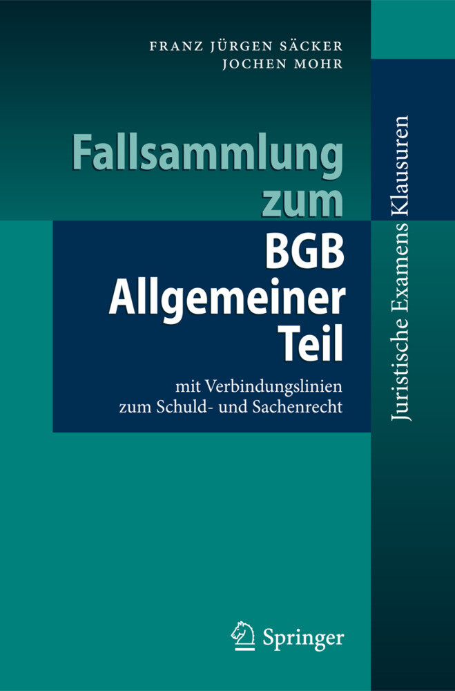 Fallsammlung zum BGB Allgemeiner Teil als Buch (kartoniert)