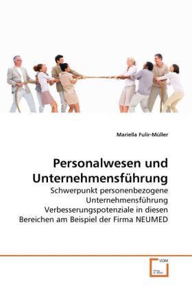 Personalwesen und Unternehmensführung als Buch von Mariella Fulir-Müller - Mariella Fulir-Müller