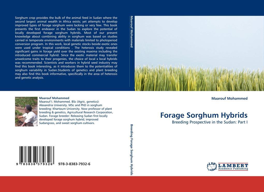 Forage Sorghum Hybrids als Buch von Maarouf Mohammed - Maarouf Mohammed