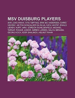 MSV Duisburg players als Taschenbuch von