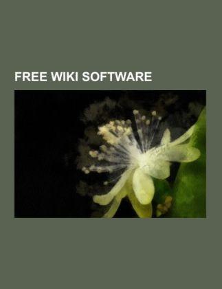 Free wiki software als Taschenbuch von