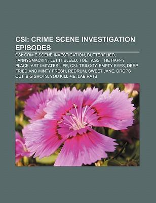 CSI: Crime Scene Investigation episodes als Taschenbuch von