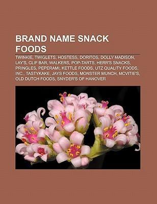 Brand name snack foods als Taschenbuch von
