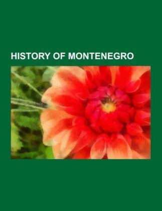 History of Montenegro als Taschenbuch von
