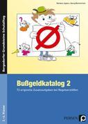 Bußgeldkatalog 2. 2. bis 4. Klasse