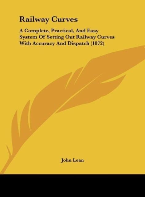 Railway Curves als Buch von John Lean - John Lean