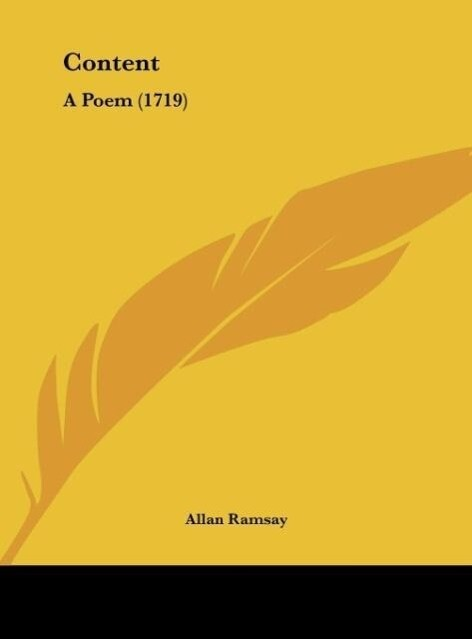 Content als Buch von Allan Ramsay