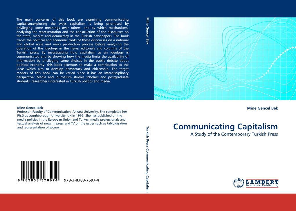 Communicating Capitalism als Buch von Mine Gencel Bek - Mine Gencel Bek
