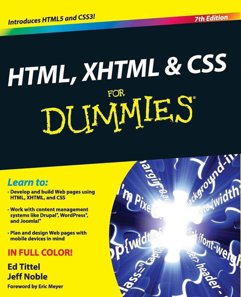 HTML, XHTML CSS FD, 7E als Taschenbuch von Titt...