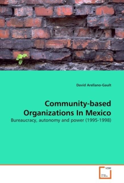 Community-based Organizations In Mexico als Buc...