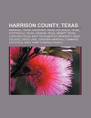 Harrison County, Texas als Taschenbuch von