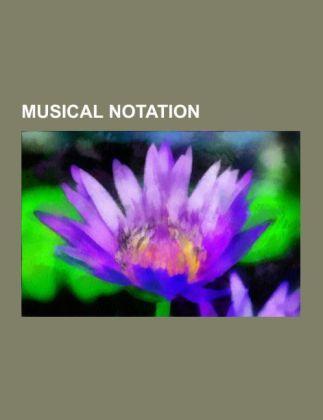 Musical notation als Taschenbuch von