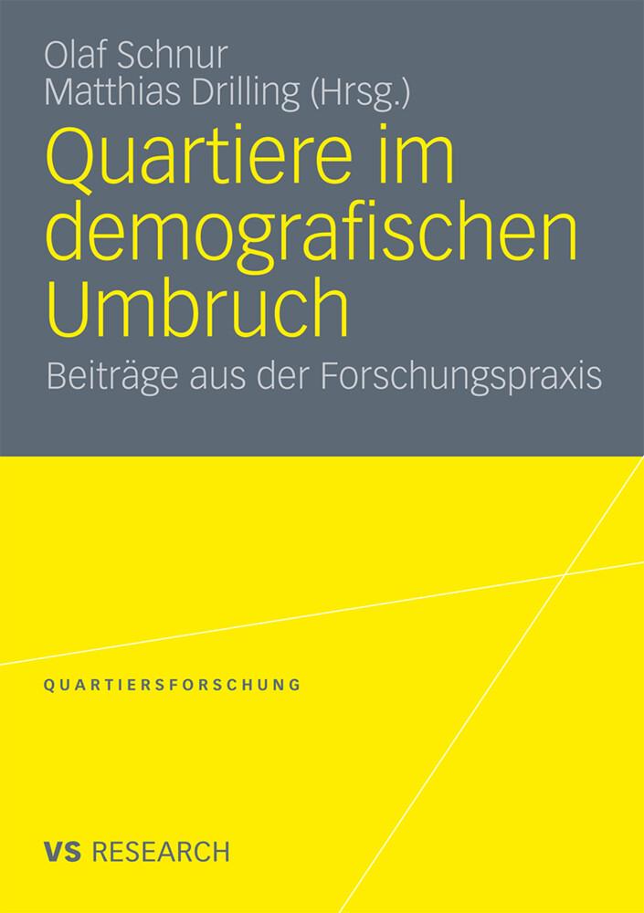 Quartiere im demografischen Umbruch als Buch von