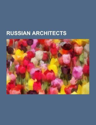 Russian architects als Taschenbuch von