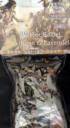 Weißer Salbei & Rose & Lavendel, Räucherwerk