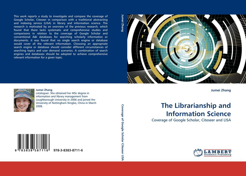 The Librarianship and Information Science als Buch von Jumei Zhang - Jumei Zhang