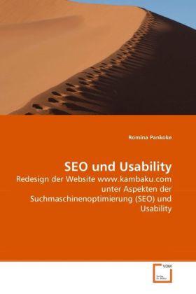 SEO und Usability als Buch von Romina Pankoke