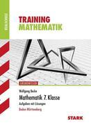 Training Grundwissen Realschule. Mathematik 7. Klasse
