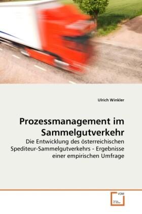 Prozessmanagement im Sammelgutverkehr als Buch ...