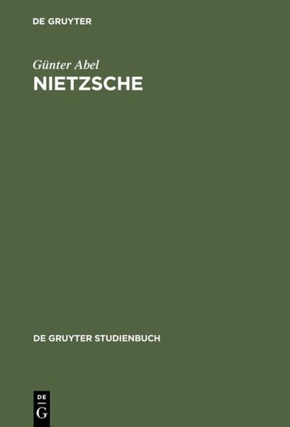 Nietzsche als Buch (gebunden)